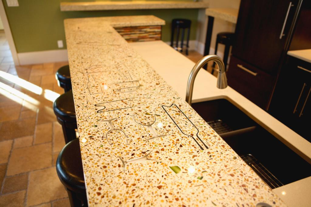 Kitchen Concrete Countertops Atlanta