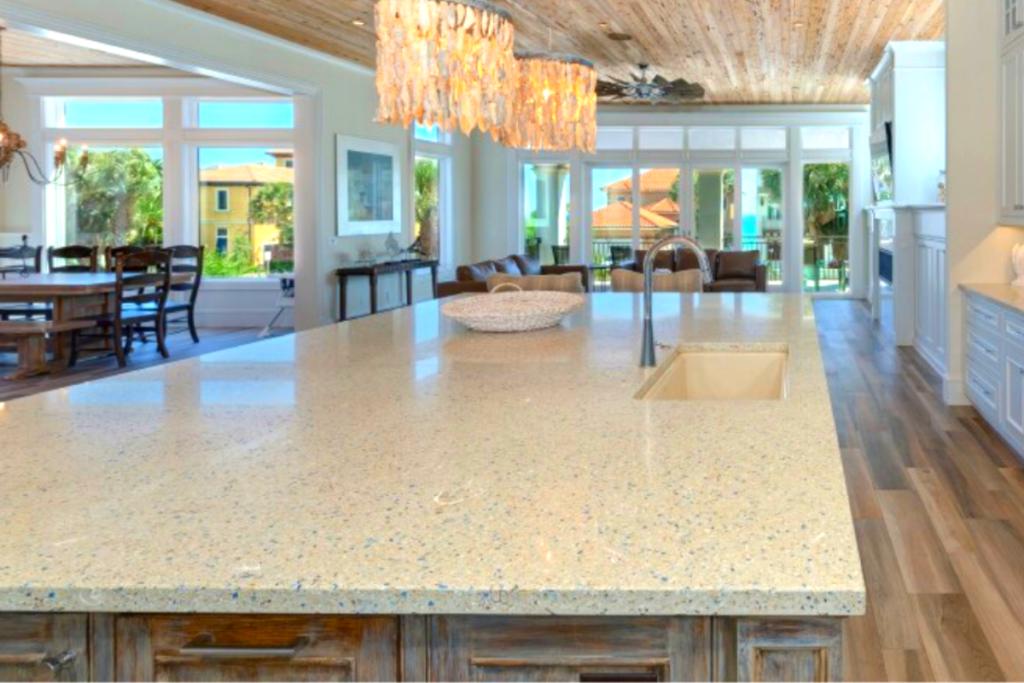 Residential Kitchen Terrazzo Countertops