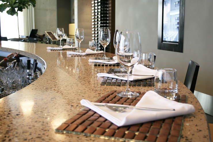 DEXterra Terrazzo Concrete Bar tops
