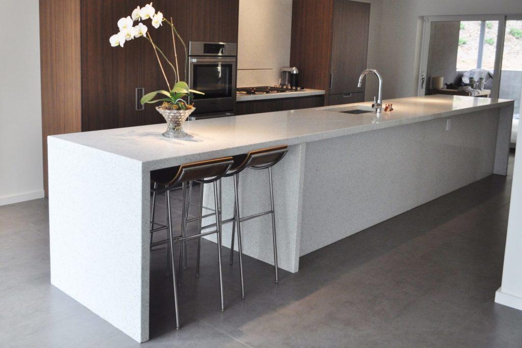 Kitchen Concrete Countertops