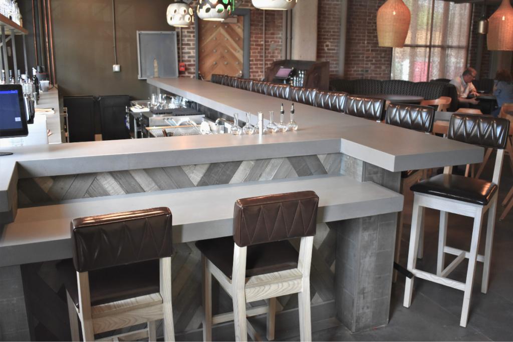 DEXterity Concrete Bar Top